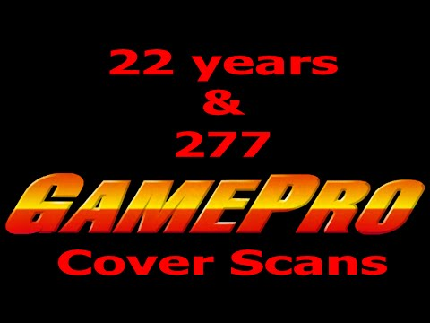 22 Years and 277 Gamepro Cover Scans