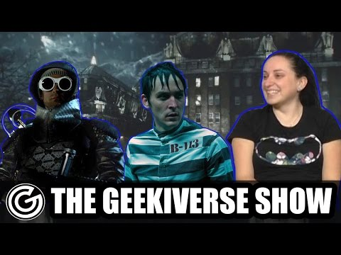 The Geekiverse Show #36: Gotham Preview - Toss That Fish Back!