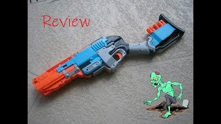 [REVIEW] รีวิวปืนเนิร์ฟ Nerf Zombie Strike SledgeFire