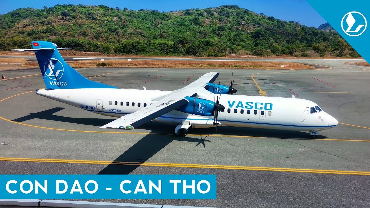 I GOT DELAYED 9 TIMES! | Vietnam Air Services Company (VASCO) (ECONOMY) | Con Dao – Can Tho | ATR 72