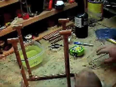 PT 2 / HOW TO BUILD A COPPER ROLLING BALL SCULPTUR...