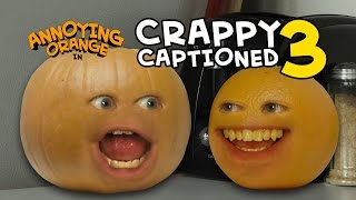 Annoying Orange - Crappy Captioned #3: Plumpkin