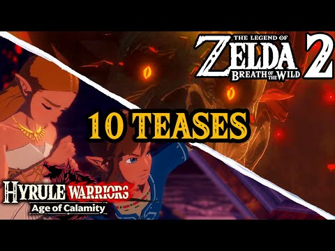 10 Zelda Breath of the Wild 2 Teases in Hyrule Warriors: Age of Calamity