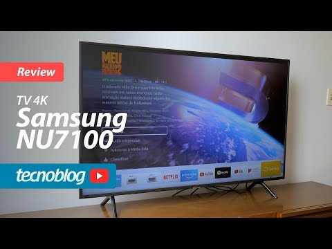 TV 4K Samsung NU7100 - Review Tecnoblog