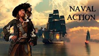 Артём капитан пиратского судна в Naval Action. #1
