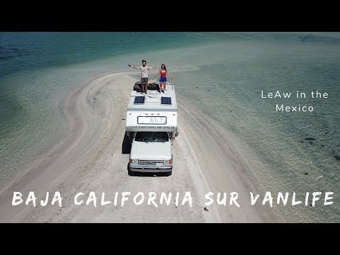 Playa El Requeson In Bahia Concepcion - Baja California Sur - Vanlife - LeAw In Mexico