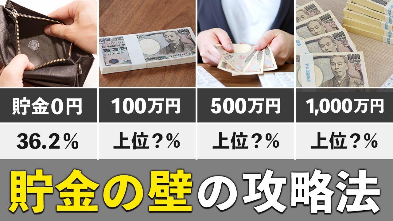 Download 【お金持ちへの道】貯金100万・500万・1000万の壁を最短で超える方法