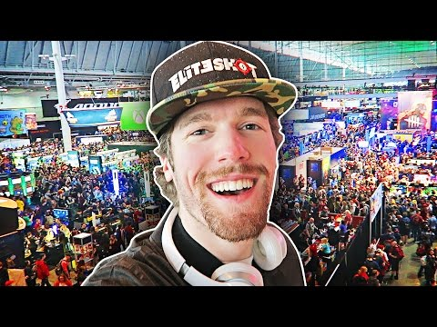 FIRST GAMING CONVENTION! (Take a Peek of PAX East 2017)