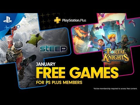 PlayStation Plus - Free Games Lineup January 2019 | PS4