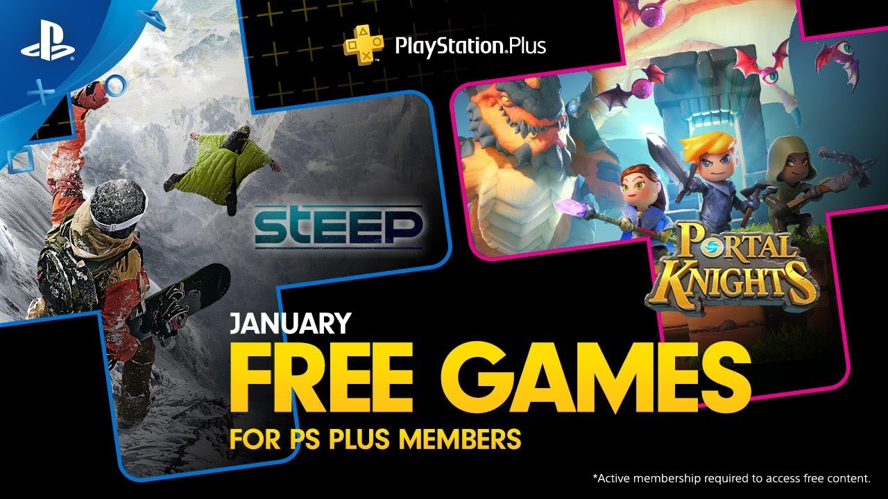 Psn November Free Games 2020.Playstation Plus Free Games Lineup January 2019 Ps4