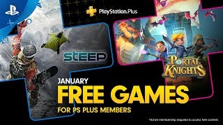 PlayStation Plus - Free Games Lineup January 2019