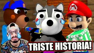 TRISTE HISTORIA DE BALDI VS PIGGY BOOK 2 | Capitulo 1 Final | Video Reacción