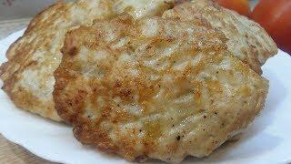 КОТЛЕТЫ ИЗ КУРИНОГО ФИЛЕ - простой и вкусный рецепт, как приготовить куриное филе!!! ОЧЕНЬ СОЧНЫЕ!!!