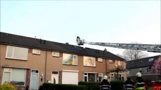 Brand verwoest Zolder Leharstraat Dongen prio 1 (6533 3756)
