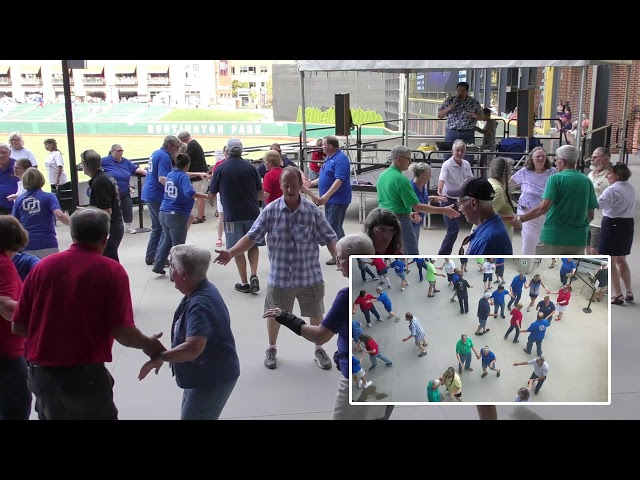 Columbus Clippers Dance -- 8/19/2019 -- 03 -- Jason Raleigh -- Allelujah