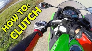 How to use a clutch + Finding the friction zone & How NOT to stall
