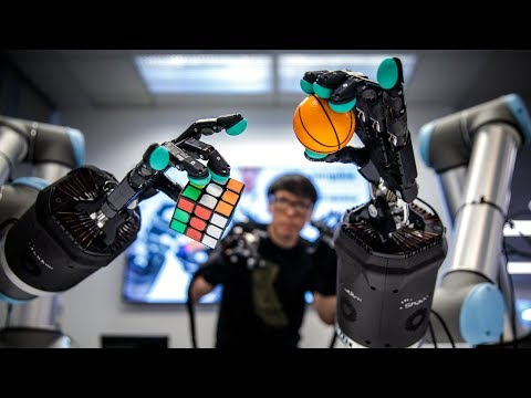 Using Haptic Gloves to Control an Amazing Telepresence Robot!