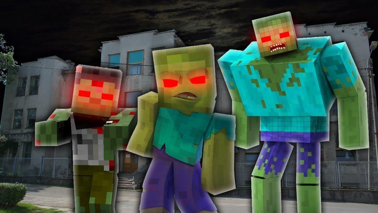все зомби из игры майнкрафт картинки дома