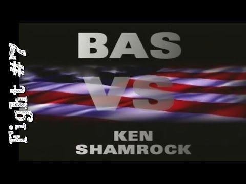 Bas Rutten's Career MMA Fight #7 vs Ken Shamrock