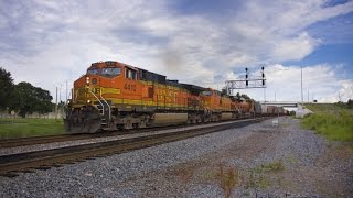 Bnsf On Q604-16 Out Of North P…