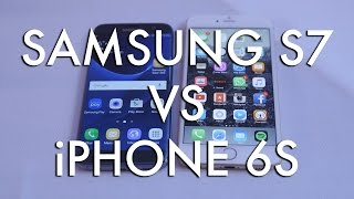Samsung Galaxy S7 vs Apple iPhone 6s - MWC 2016