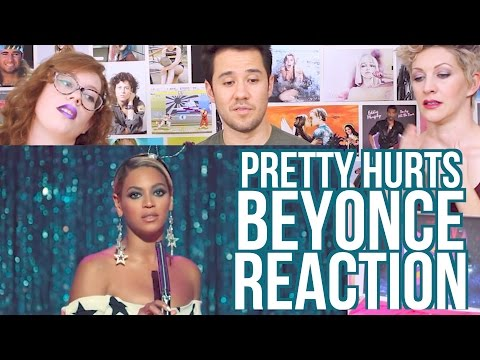 BEYONCE - Pretty Hurts - REACTION