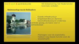 Wereldwijs havo 4/5 hoofdstuk 9 §3 Het koloniale verleden, Domein ontwikkelingsland Indonesië