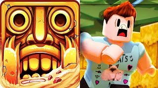 TEMPLE RUN 2 vs TEMPLE RUN ROBLOX