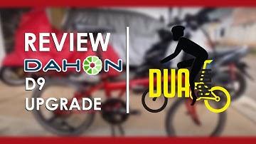 Review Dahon Speed D9 Upgrade