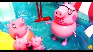 Мультфильм 🔴Peppa Pig🔴  Свинка Пеппа. Пеппа на пляже. Летние серии Пеппы