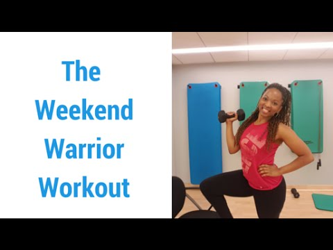Weekend Warrior Workout - Memorial Day Edition