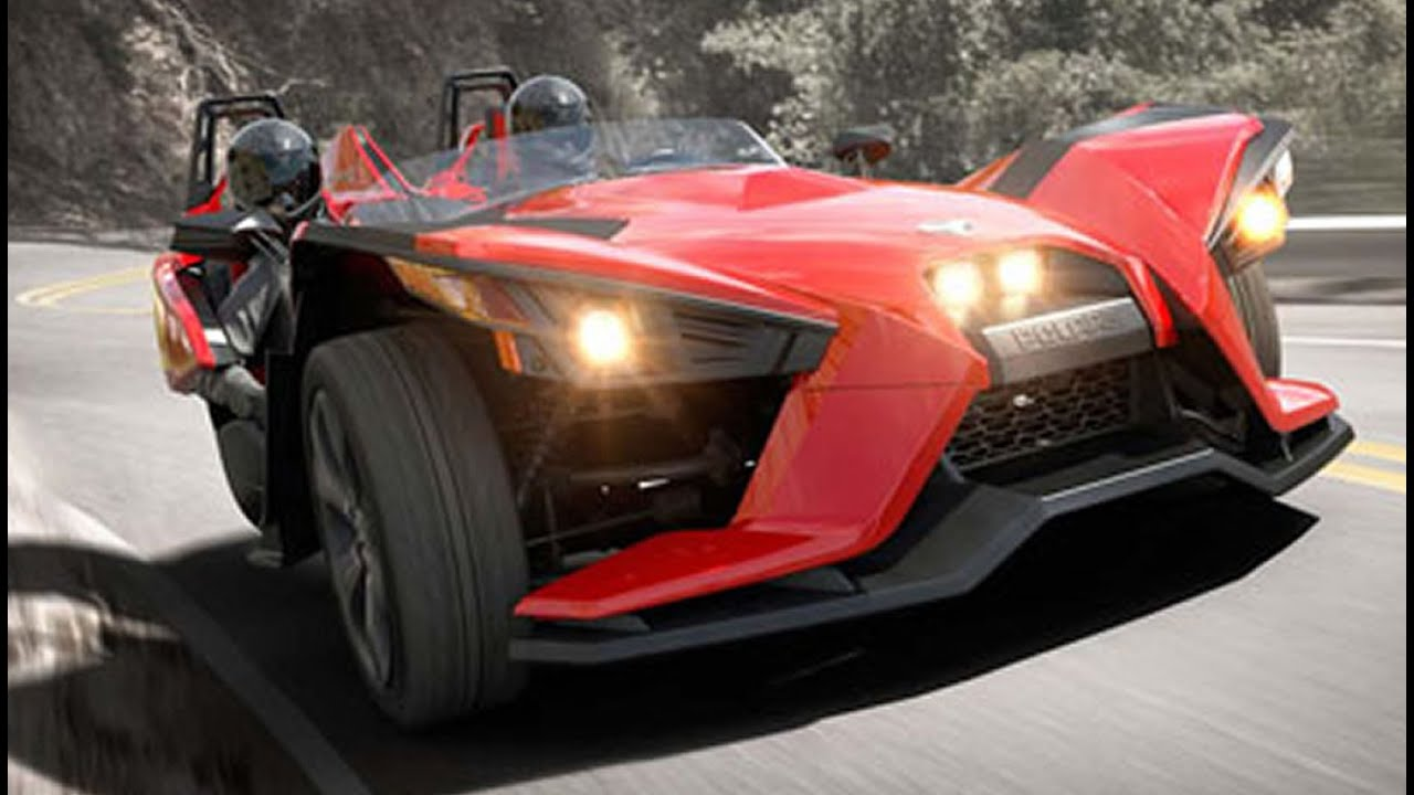 Polaris Slingshot 3 Wheel Roadster Looks Like An