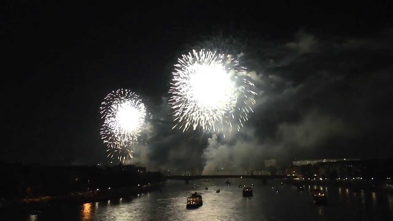 Grosses Feuerwerk Basel 2013 Youtube