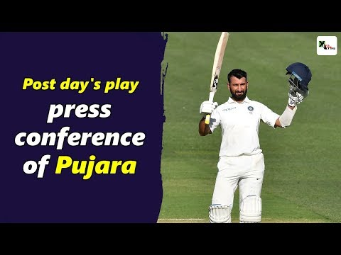 Watch: Cheteshwar Pujara's post day 1 press-conference