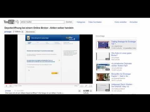 Aktienkauf bei einem Online Broker - ein Beispiel für Aktienkauf