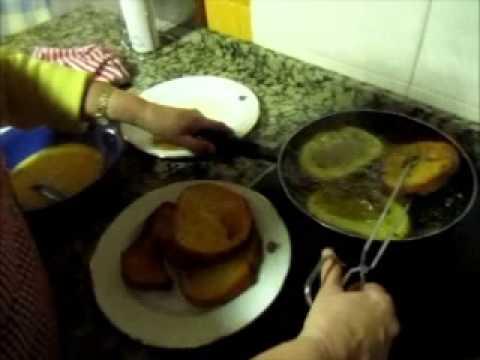 Cocinando Torrijas en Siruela para Radio Siberia