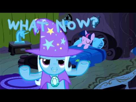 Trixie returns to ponyville