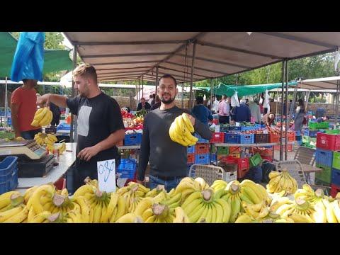 Nicosia vegetable market//   নিকোসিয়া সবজি বাজার