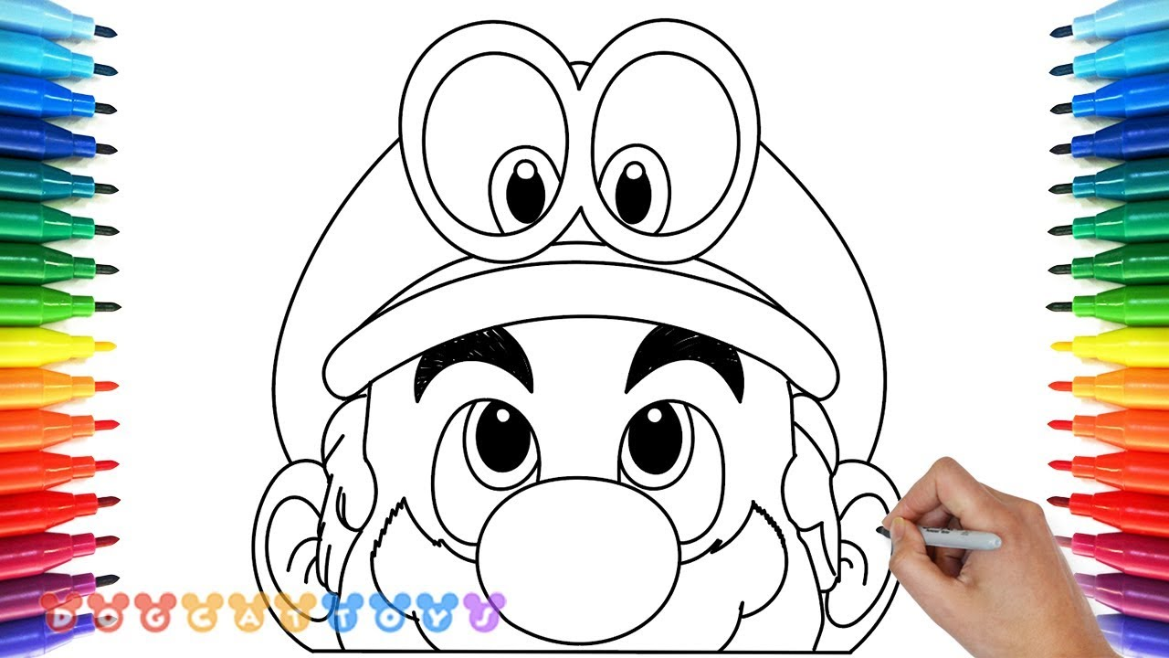 How To Draw Super Mario Odyssey 5