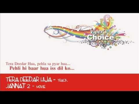 Tera Deedar Hua (From the Heart) - Jannat 2