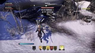 The Elder Scrolls Online: Tamriel Unlimited Gameplay