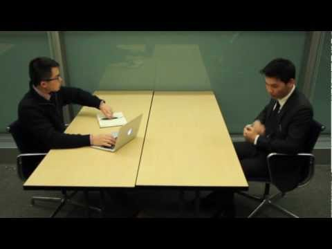 Andy Yu's First Interview - Rush AKPsi Spring 2013