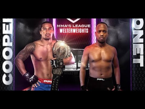 Ray Cooper iii upcoming bout against Jason Ponet