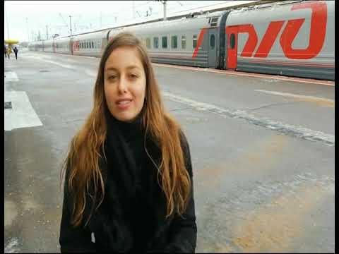 Видео В Ярославль прибыли звезды сцены и кино: кого встретили на вокзале