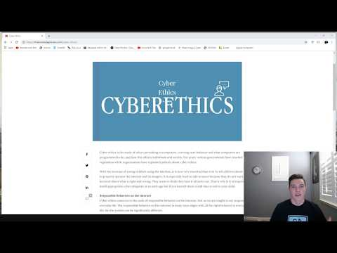 CyberEthics - California CyberHub