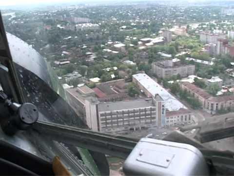 Запуск воздушных шаров с самолета в городе Иваново