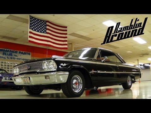 1963 Ford Galaxie 500 XL 390 V8 - Nicely Restored Classic Car