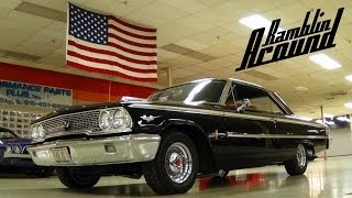 1963 Ford Galaxie 500 XL 390 V8 - Nicely Restored Classic Car