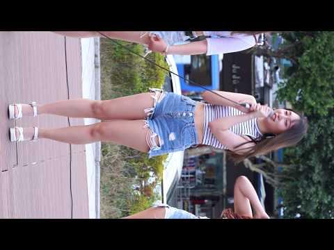 "[4K] FANCAM/직캠 180622 ""댄스팀 해피니스(HAPPINESS) 초롱& 레아&사랑"" "" 개인소개(Introducing)""  2018 찾아가는 문화마당(동대문구)"