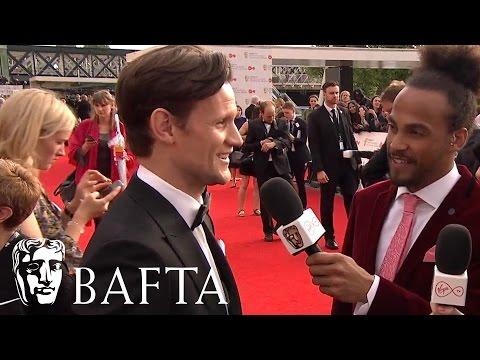 Matt Smith Red Carpet Interview   BAFTA TV Awards 2017